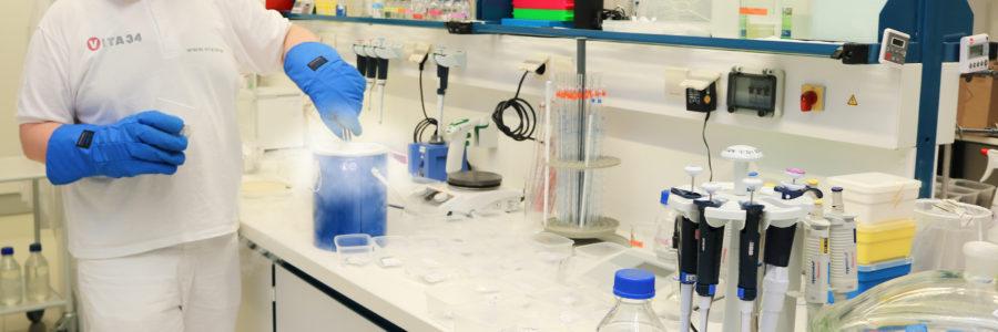 Trapianto di cellule staminali di successo grazie a Vita 34
